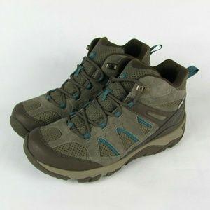 New MERRELL Boulder Waterproof Hiking Boots 10.5